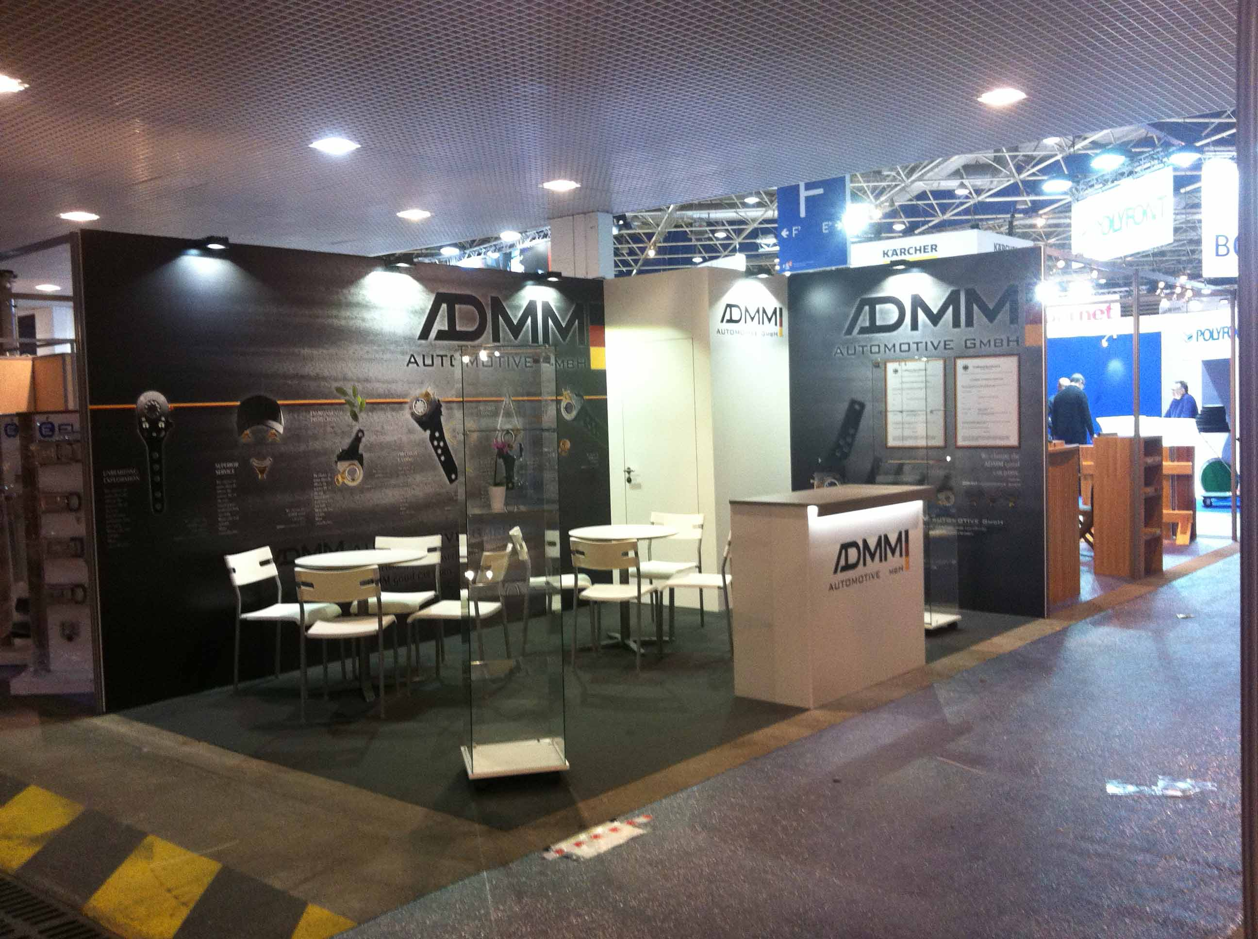 Admm solutrans 2015 capsule concept for Standiste lyon