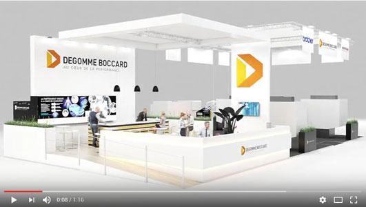 Cas client capsule concept for Montage stand salon