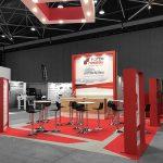 stand conçu par Capsule Concept Lyon